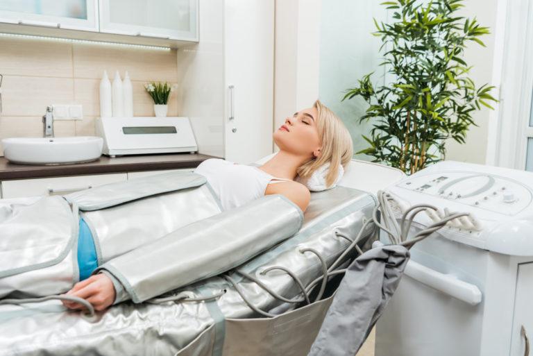 Lymfedrainage Pressotherapie